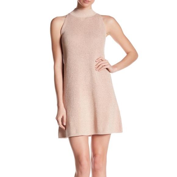1.State | Mock Neck Sweater Dress